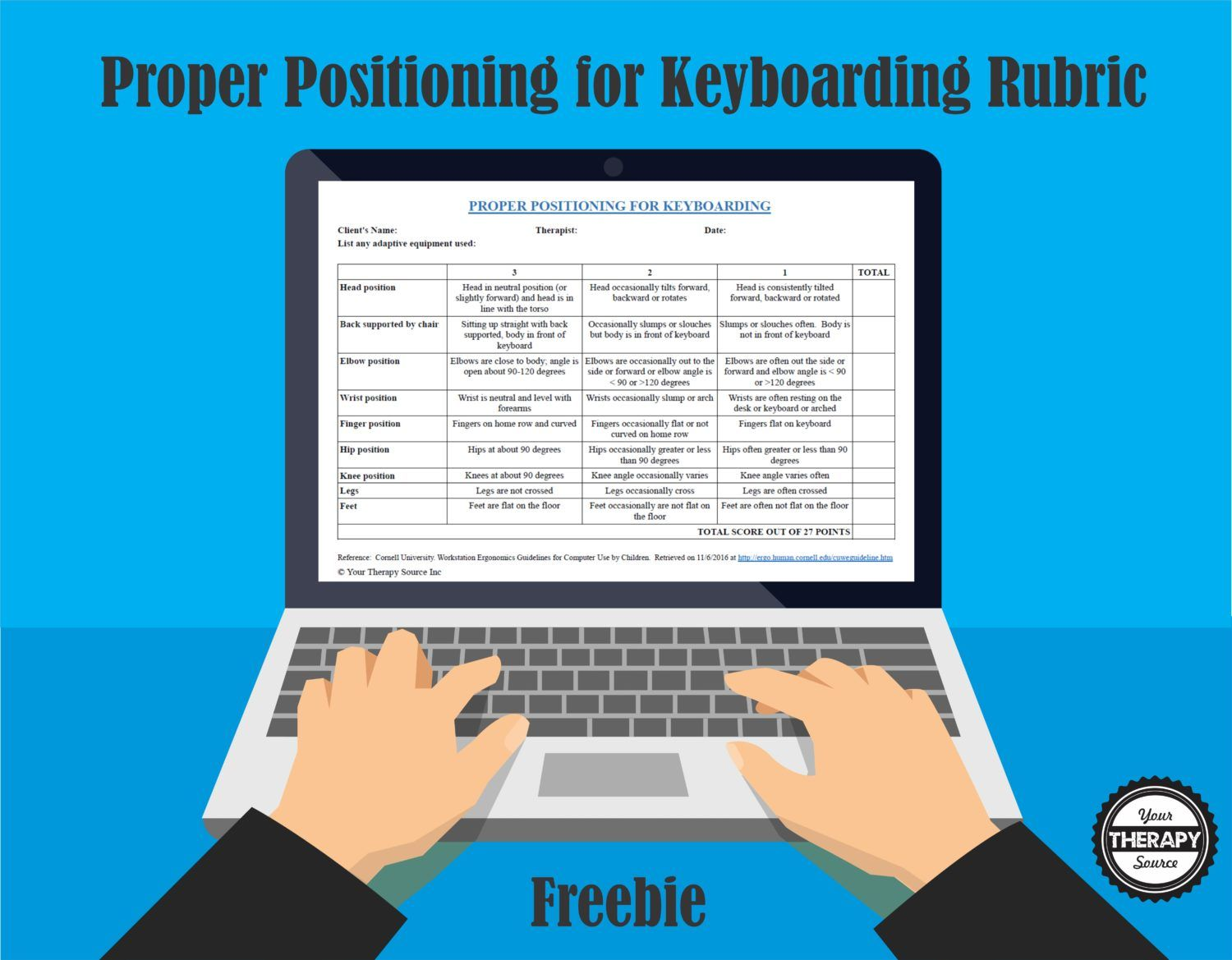 5 Free Positioning Handouts With Images