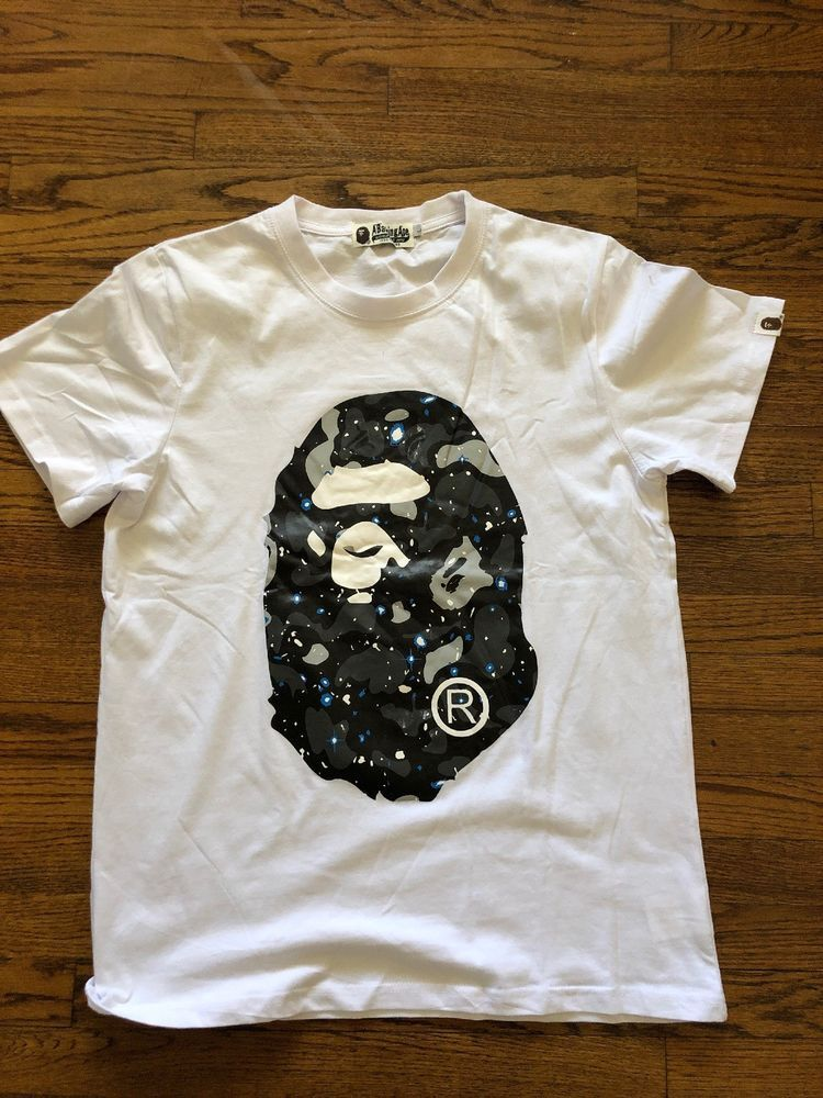 f1c586eb Bape Galaxy Camo Tee #fashion #clothing #shoes #accessories #mensclothing # shirts (ebay link)