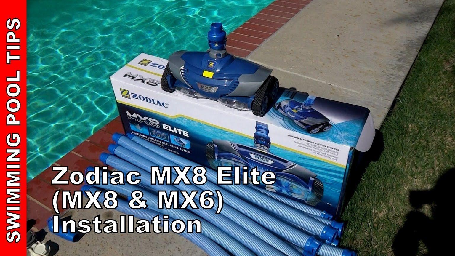 Zodiac Mx8 Elite Installation Mx8 And Mx6 Zodiac Mx8 Installation Zodiac