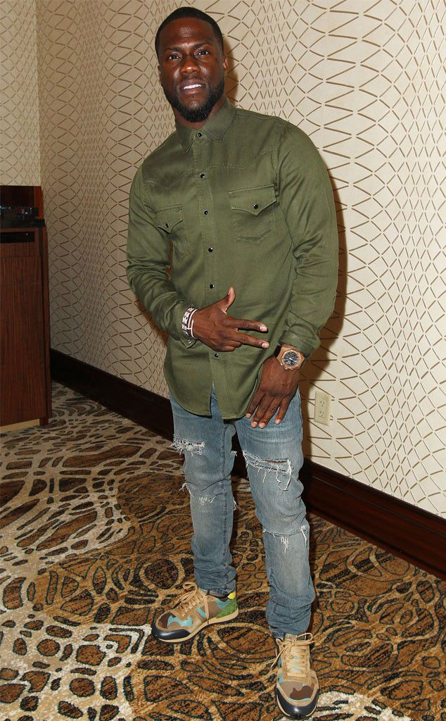 Comedian and actor Kevin Hart appeared at the Seminole Hard Rock Hotel after his concert.