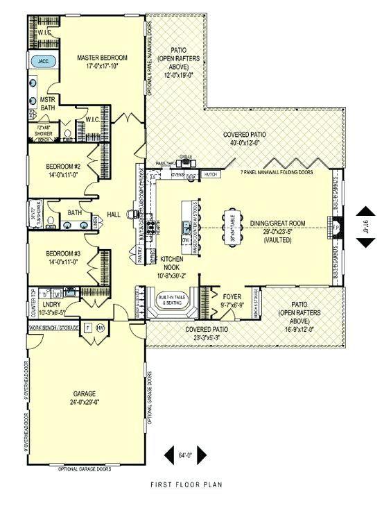 Inspiring  shaped house plans with car garage ideas best inspiration home design eumolp also rh pinterest