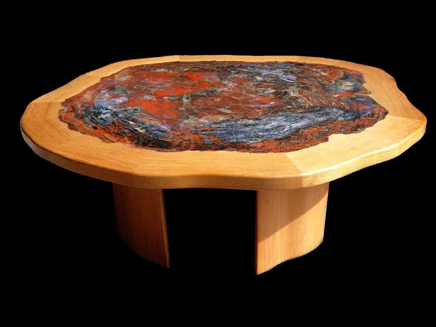 FINE QUALITY ARIZONA PETRIFIED WOOD TABLES  PETRIFIED WOOD SLABS AND  PETRIFIED WOOD FURNITURE FOR SALE. FINE QUALITY ARIZONA PETRIFIED WOOD TABLES  PETRIFIED WOOD SLABS