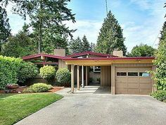 Converting A 50s Modern Carport To Garage Google Search Seattle Architecture Architecture Modern Carport