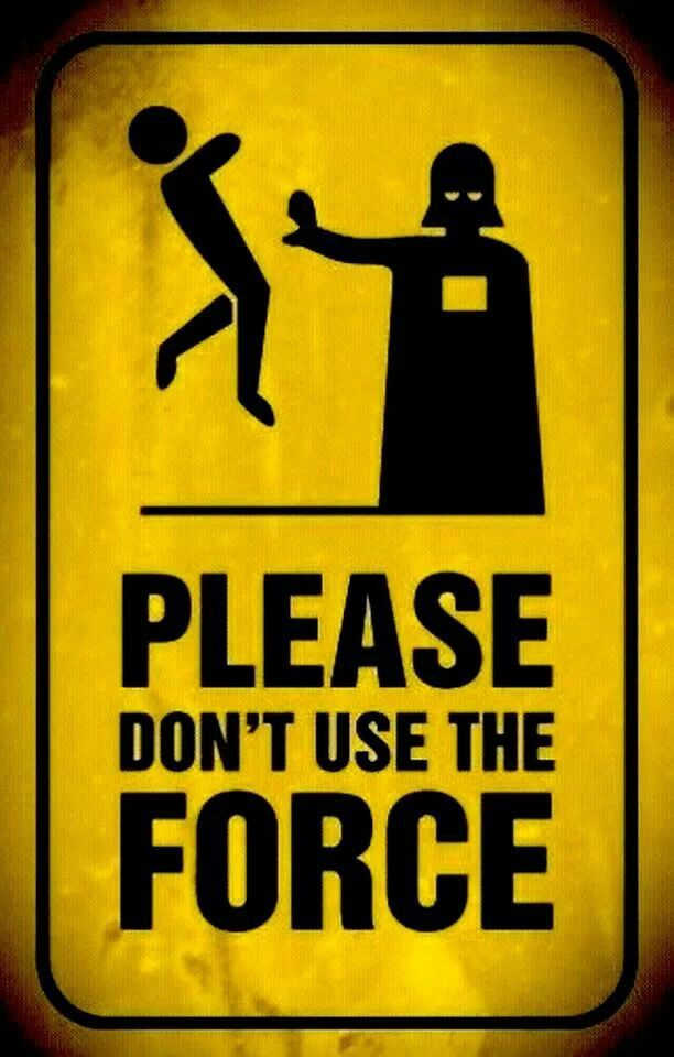 The force....