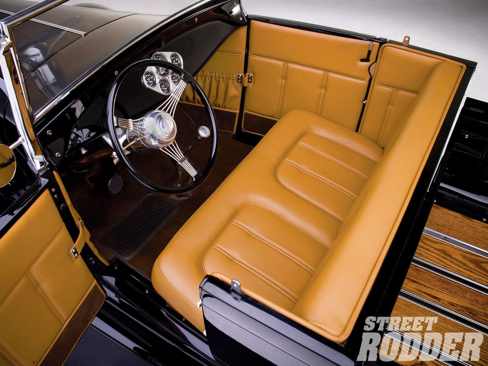 Pin By Lance Russell On Best Hot Rods Roadsters Custom Car Interior Ford Models