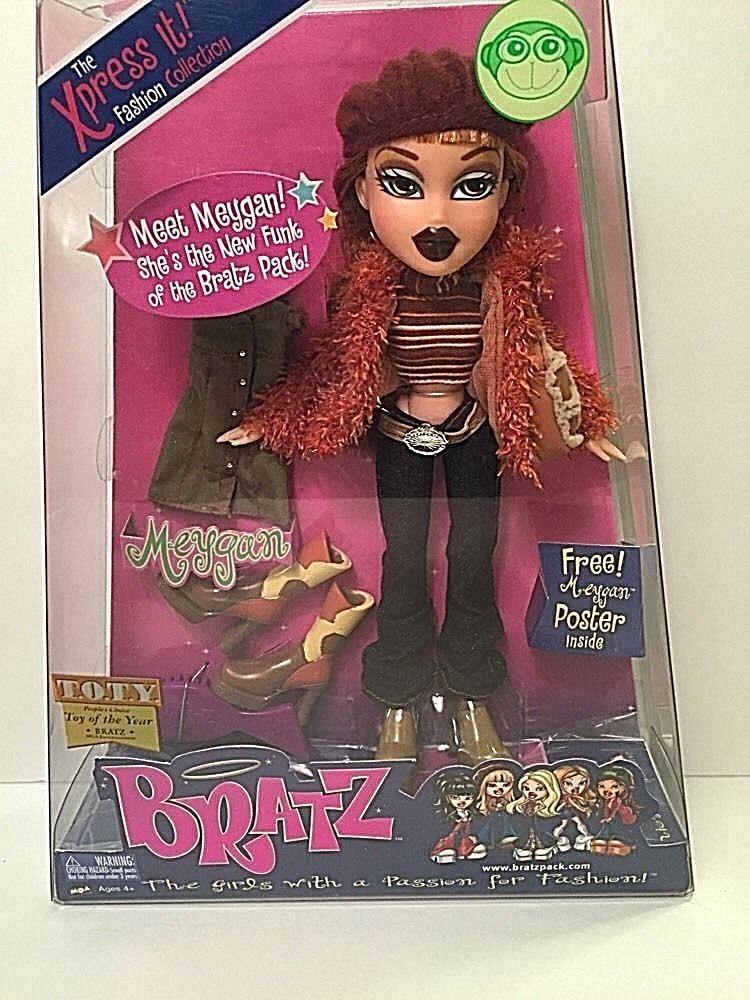 Meygan Rare Collectible Fashion Collection Bratz Xpress It