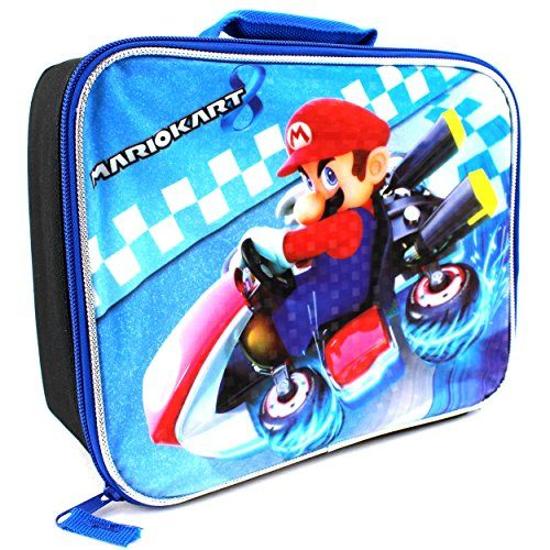5fc1ce4544d1 Pin by Cherryl Pearl on Lunch Boxes | Mario kart 8, Mario kart, Mario