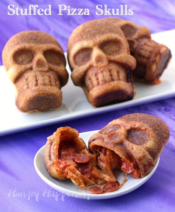 This Halloween freak out your friends and family by serving them - halloween food ideas for kids party