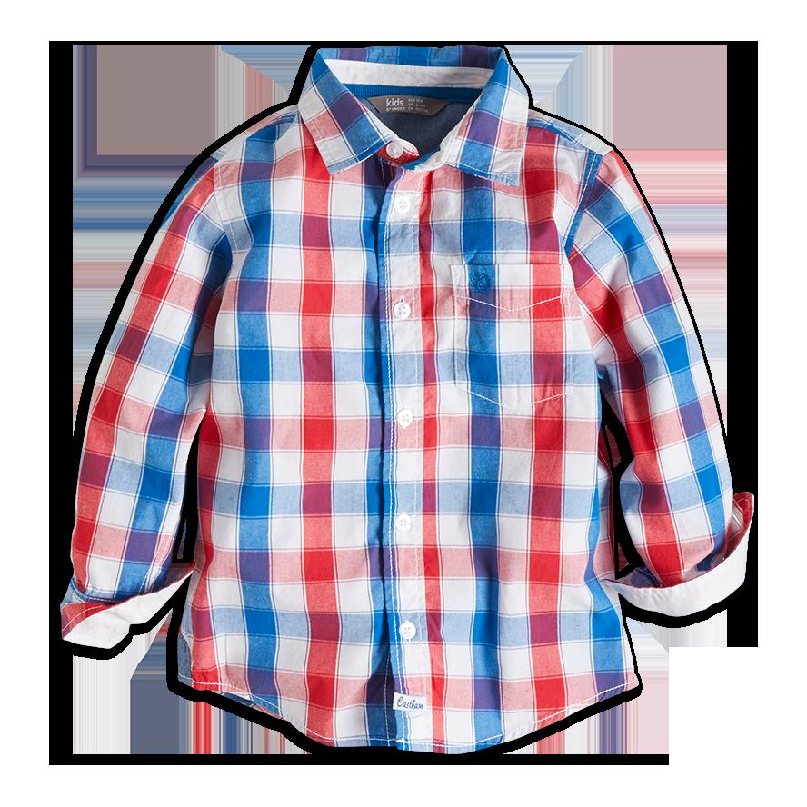Skjorte, Blå, Gutt 92-122 cm, Barn   Lindex