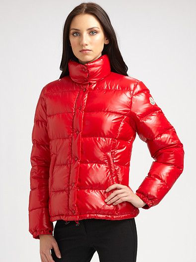 buy online 8cb3c 3f048 Red Moncler 'Clairy' down jacket | Puffer | Jackets, Moncler ...