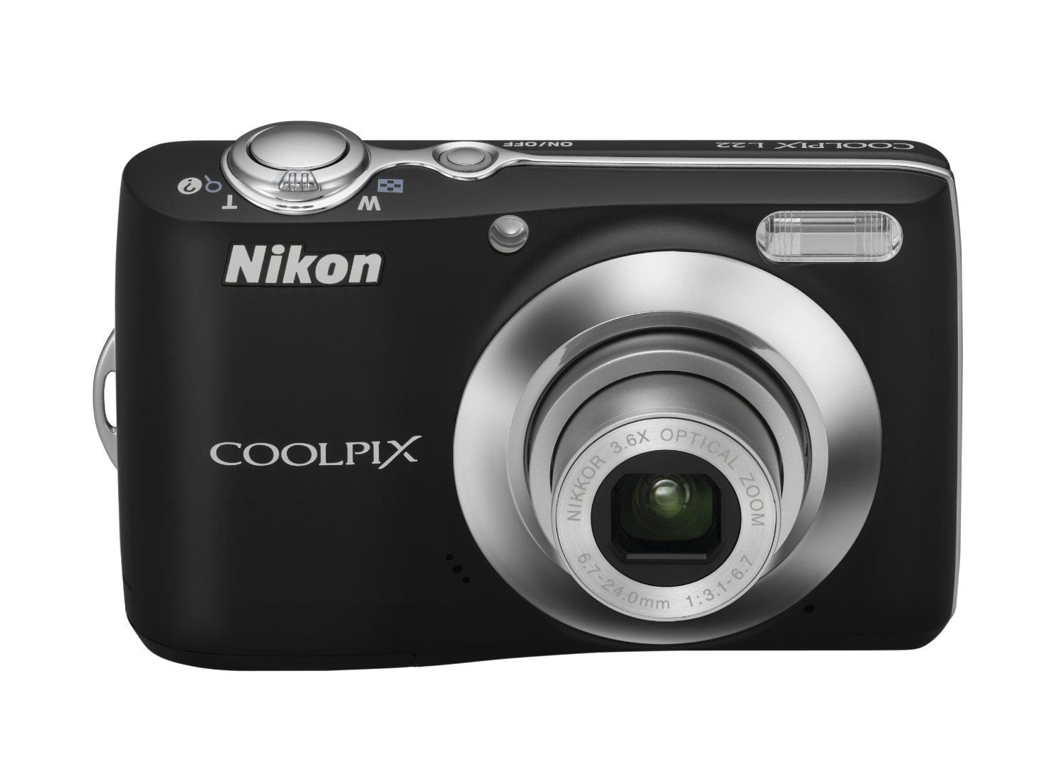 Nikon Coolpix L22 12 0mp Digital Camera With 3 6x Optical Zoom And