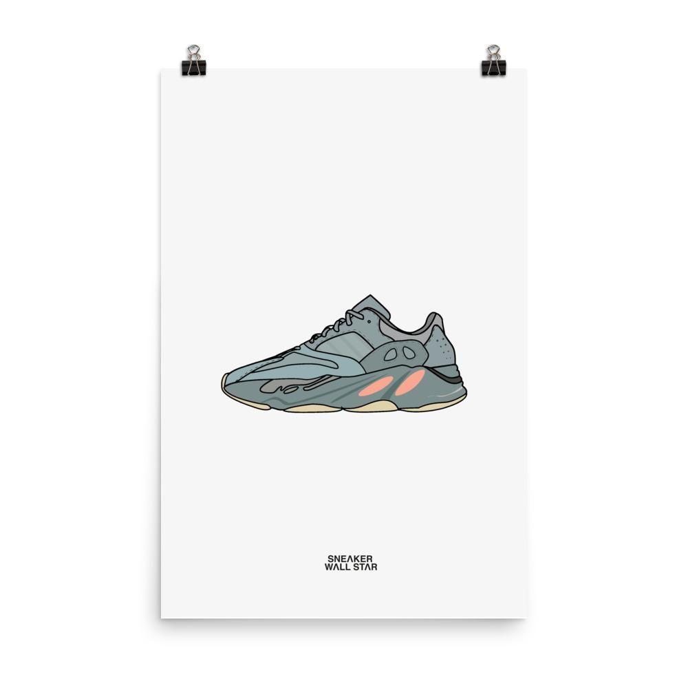 Poster Yeezy 700 Inertia | Yeezy