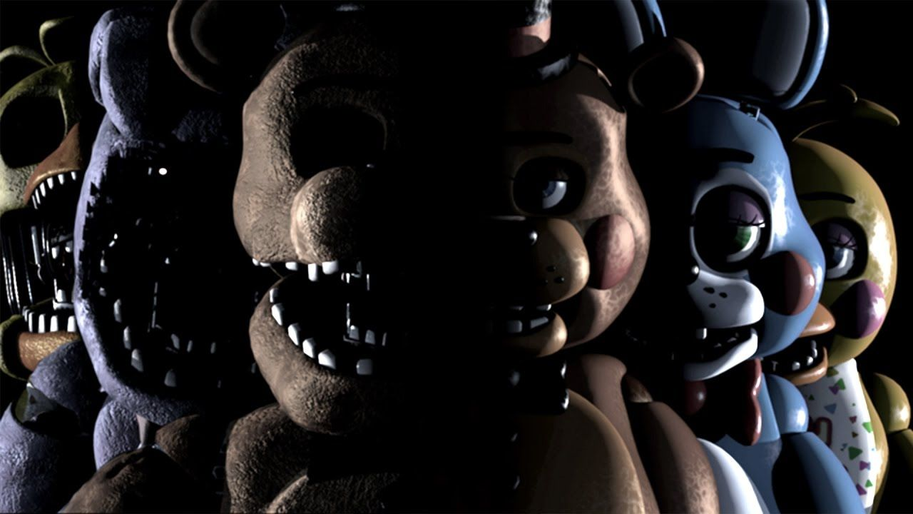 Free Roam Five Nights At Freddy S 2 Overnight 2 Redux Five Night Five Nights At Freddy S Fnaf