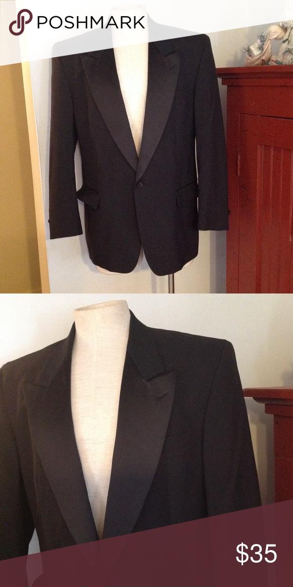 vintage peak lapel gangster tuxedo jacket 44 gangsters satin and