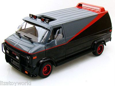Ateam Van With Mud Hot Wheels Elite 1 43 Scale Vehicle You