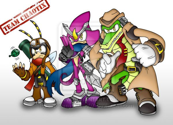 SLegends Contest- Team Chaotix by silveramysaurus07.deviantart.com on @deviantART