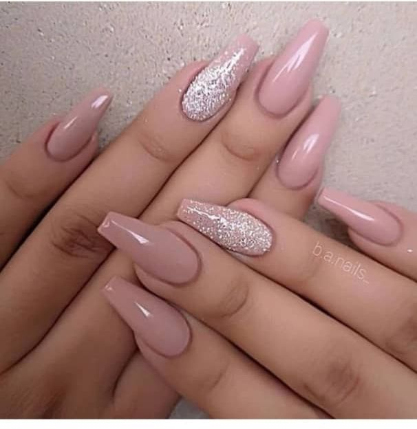 40+ Trendy Coffin Nails Design Ideas - The Glossyc