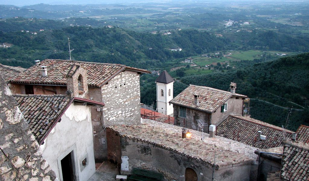 Olevano romano -Lazio - Italy.