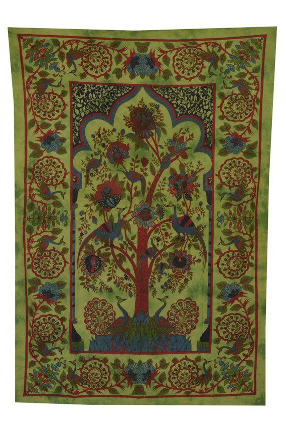 Tree Of Life Wall Hanging Indian Tree of Life by HandicraftsVilla, $15.99