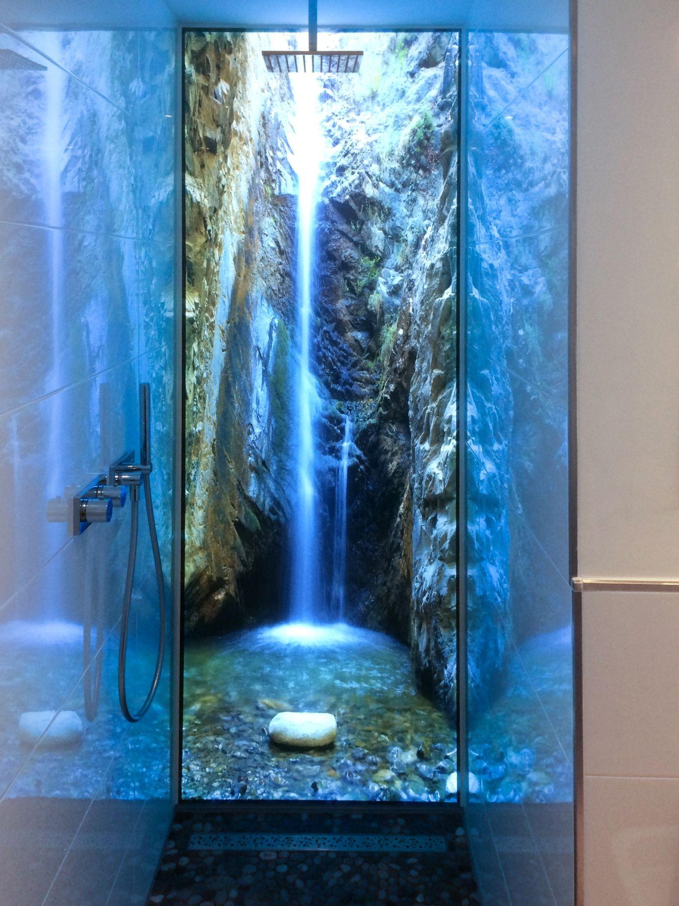 Duschruckwand Anwendung 3 Duschruckwand Wandgemalde Ideen Badezimmer