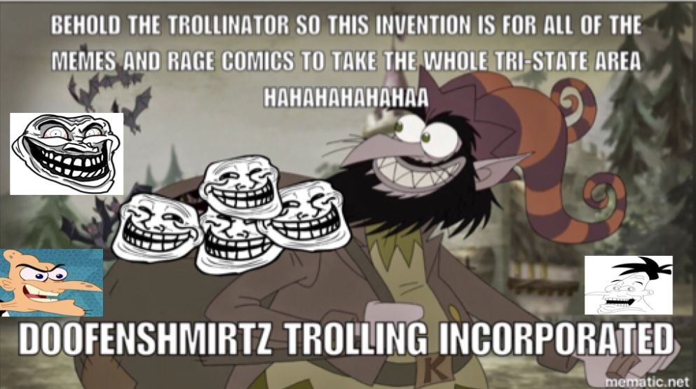4c7d75960a29904ae42174362339e6c7 the trollinator doofenshmirtz trolling inc doofenshmirtz