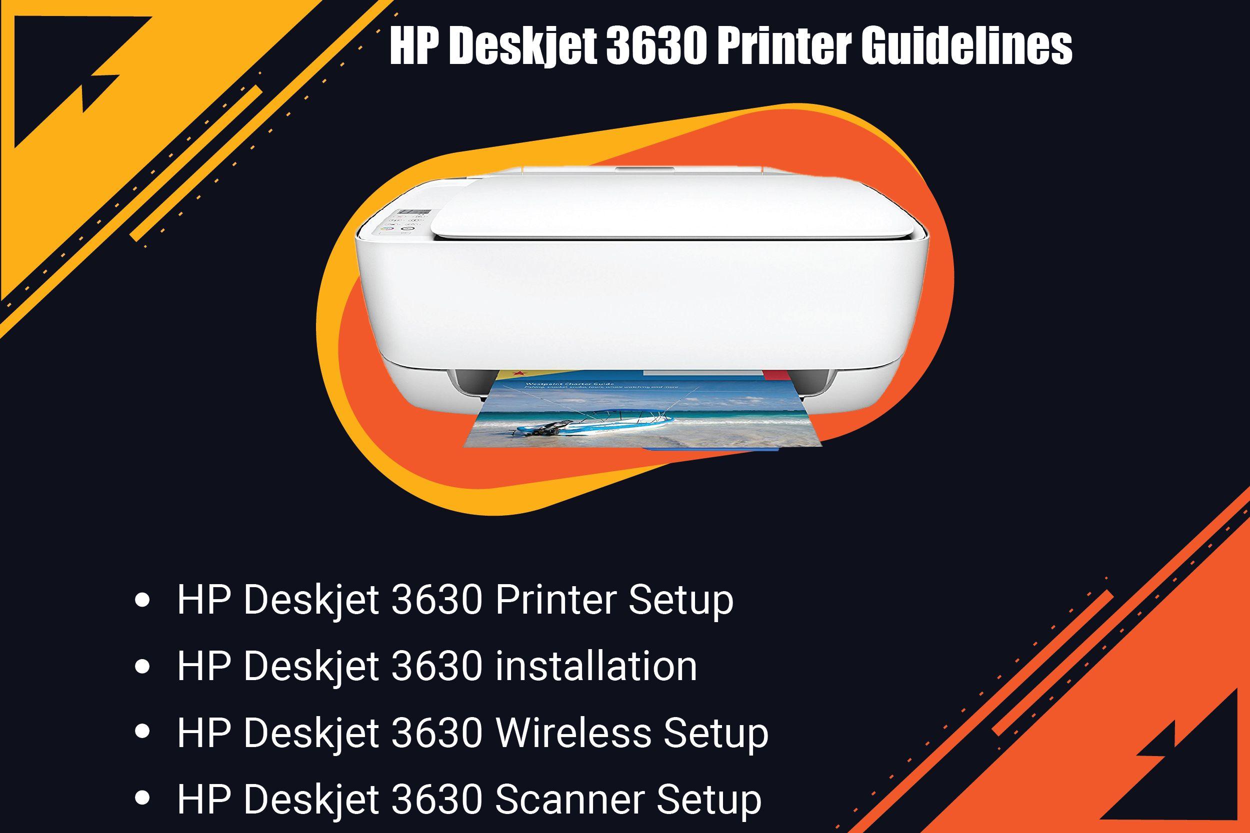 123 Hp Com Dj3630 Deskjet Printer Installation Mac Computer