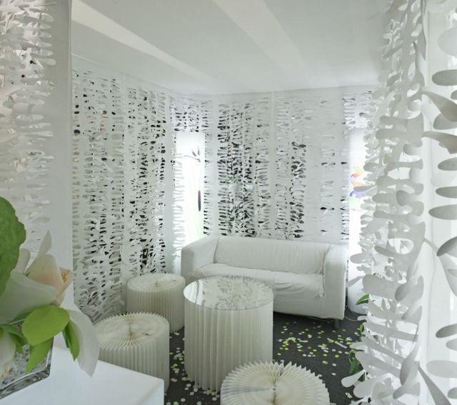 panneaux japonais pour une ambiance d int rieur unique panneau japonais panneau et laser. Black Bedroom Furniture Sets. Home Design Ideas