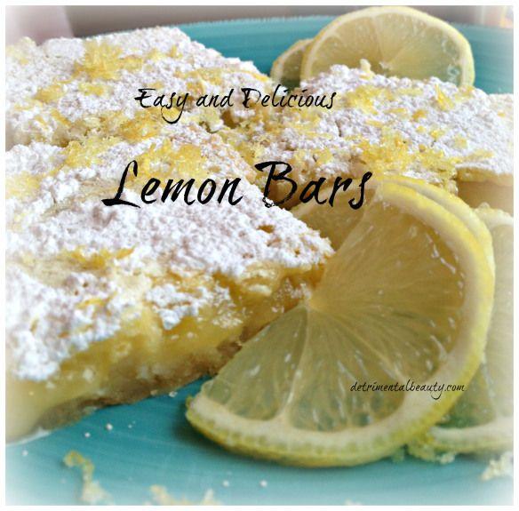 Lemon Bars top pic