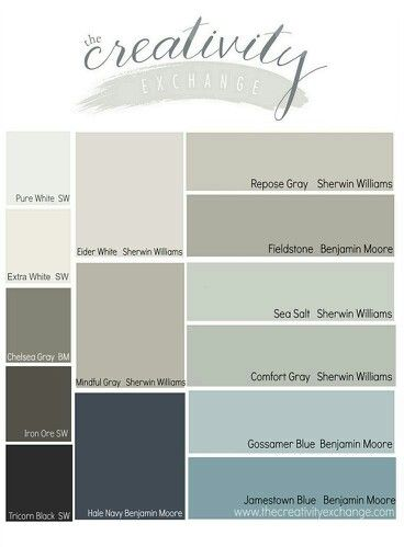 Sea Salt Comfort Color For Dining Living Room And Fieldstone For