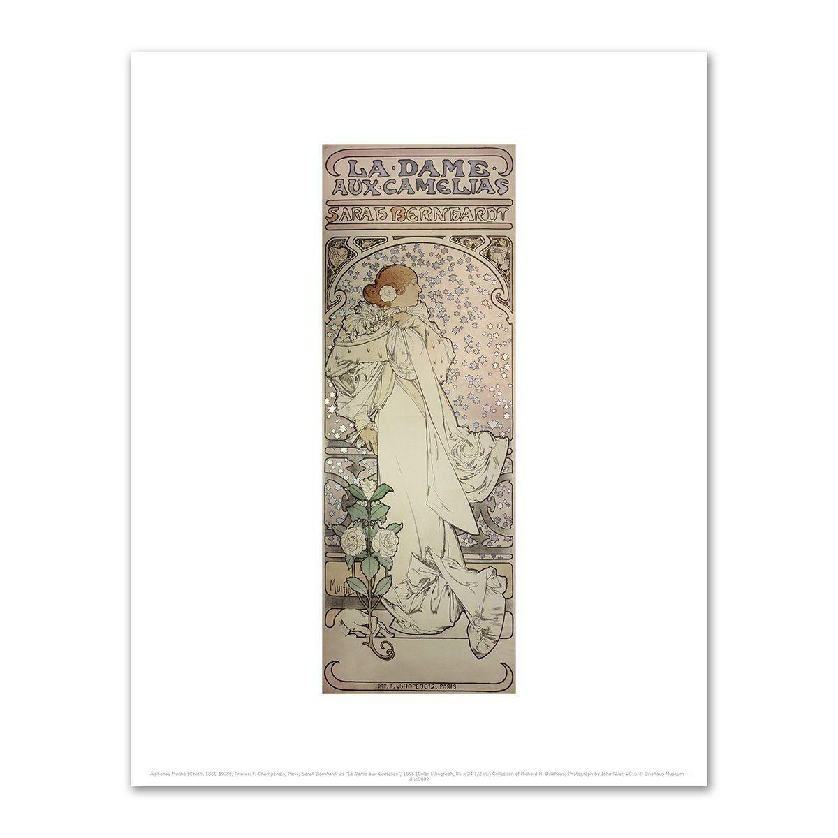 """Sarah Bernhardt as """"La Dame aux Camélias"""" by Alphonse ..."""