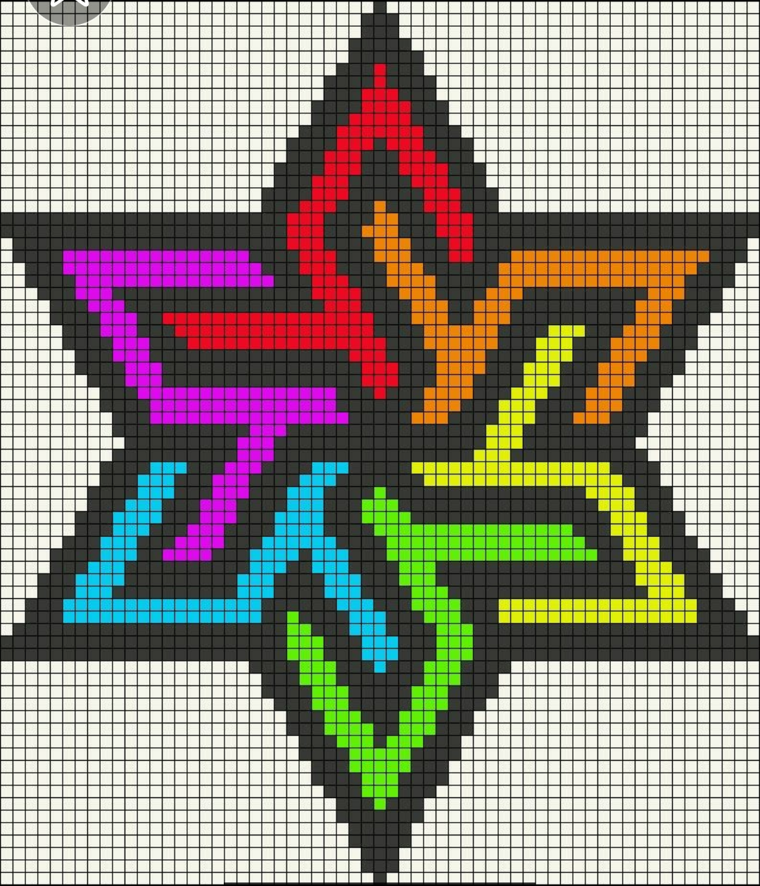 Pin En Pixel Art I Want To Make In Excel Spreadsheets