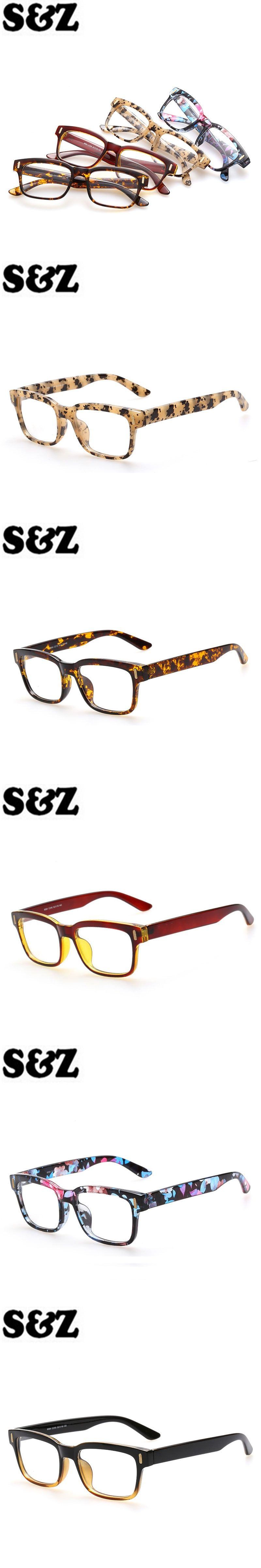 5e7dd676da9 Optical Eyewear Frame for Men Women Glasses Frames Clear Fake Glasses  Square Eye glasses Mirror Retro