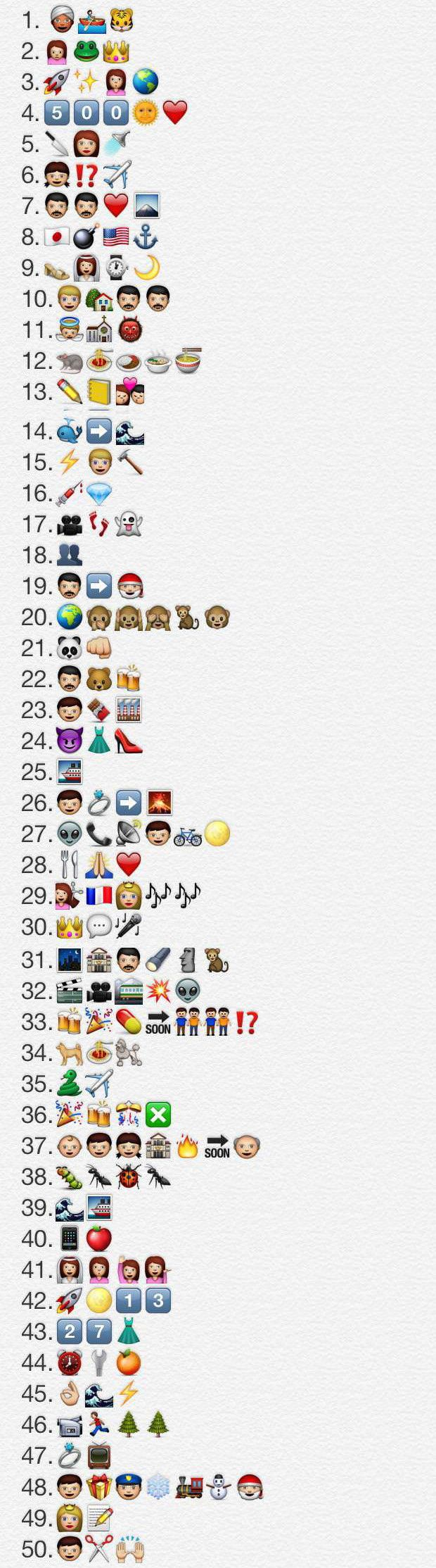 Guess The Emoji Level 34 : guess, emoji, level, Guess, Emoji, Level