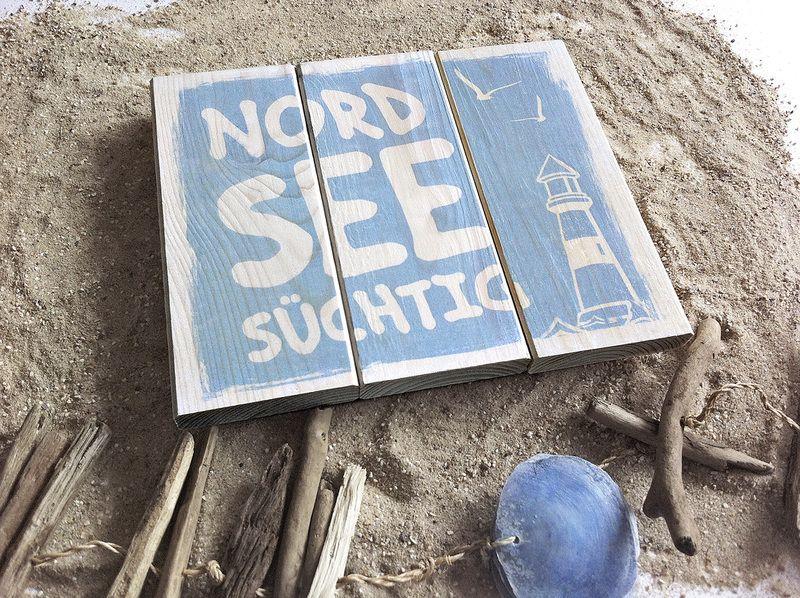 Inspirational Dekoschild Nordsee Meer Geschenk Garten Terrasse von Herzensprojekt auf DaWanda