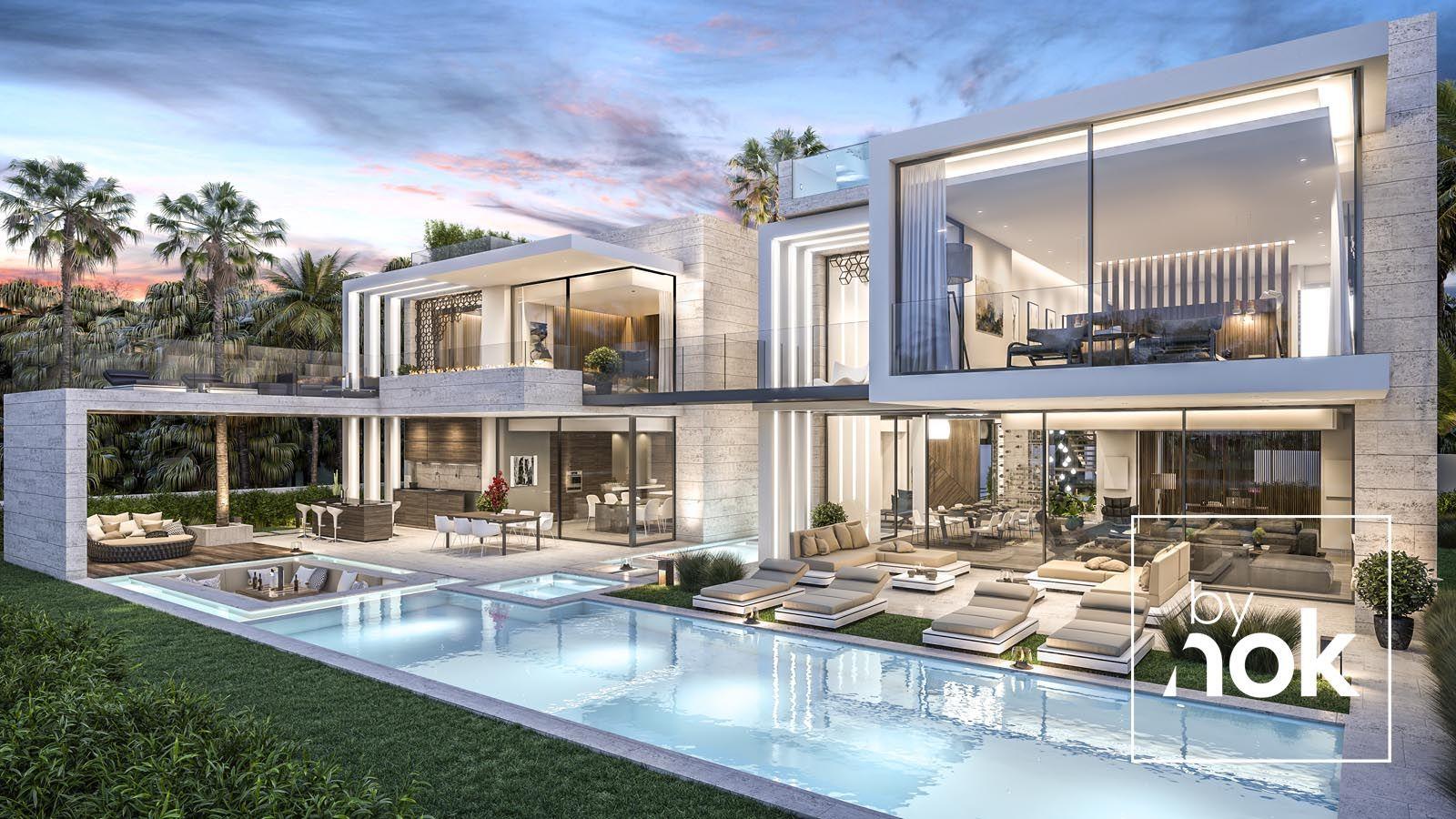 Architecture Construction Luxury Villa In Dubai Builders