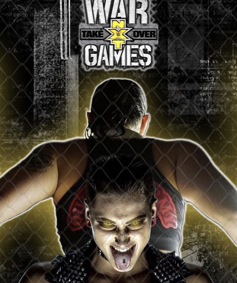 War Games PPV Shayna Baszler vs Rhea Ripley The game is