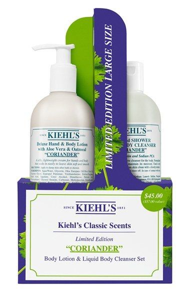 Kiehl S Since 1851 Classic Scents Coriander Edition Duo Limited