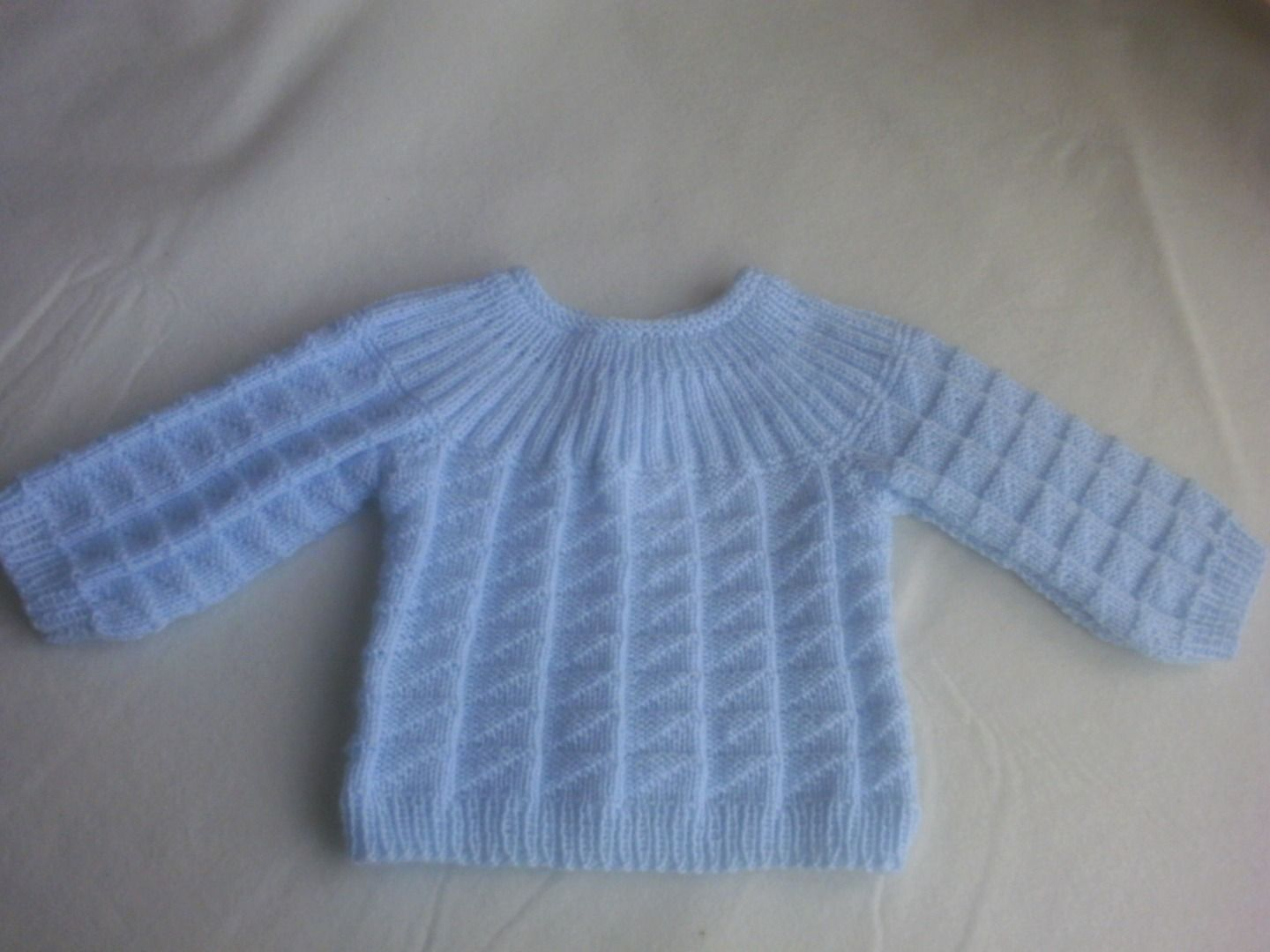 Brassi re top down jersey 3 mois photo de tricot basique bigmammy en travail tricoter - Tricot cote 1 1 ...