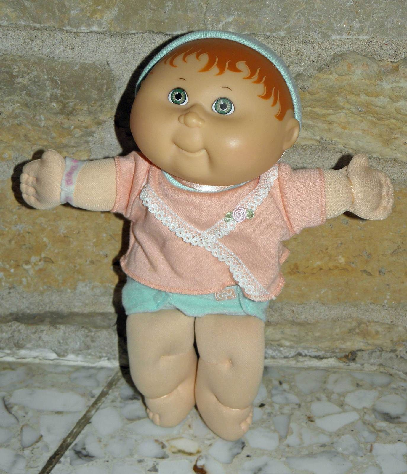 Hasboro Rare Hard To Find 10 Teeny Tiny Cpk With Painted Hair C 1992 Cabbage Patch Kids Hair Painting Patch Kids