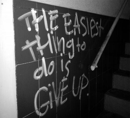 Graffiti Sad Quotes: .. But Life Isnt Always Easy