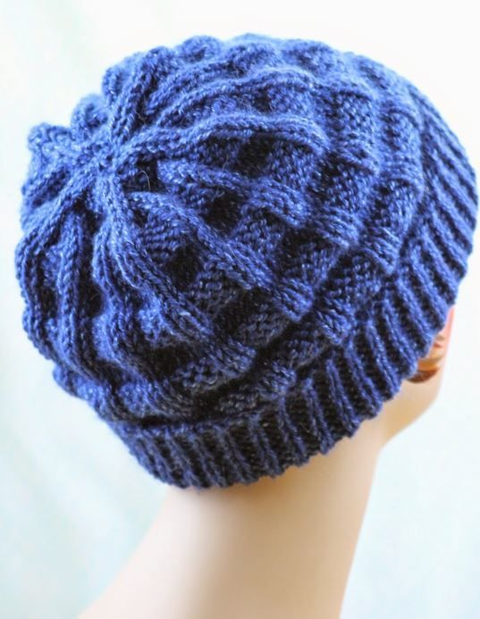 Deep Sea Starfish Knit Hat | knitting | Knitting, Knitted