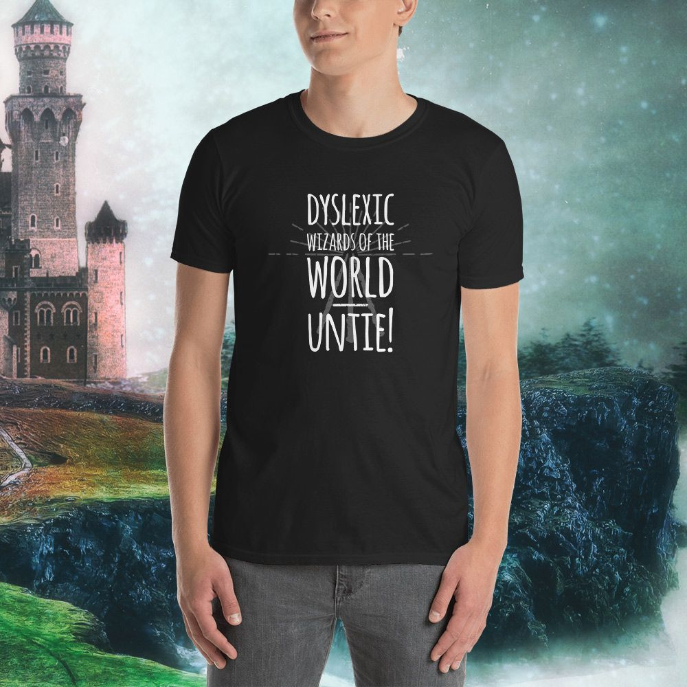 Dyslexic Wizards Of The World Untie Play On The Word Unite Classic T Shirt By Merch By Incite Media T Shirt Classic T Shirts Dyslexics