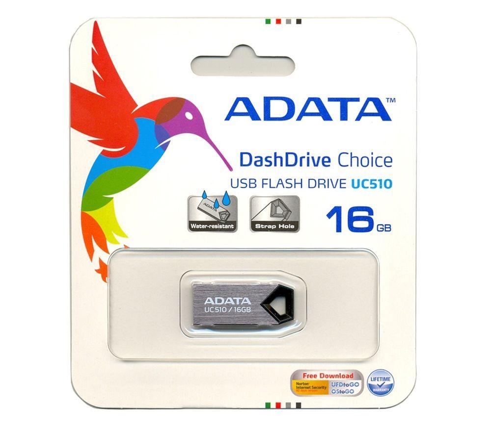 New Adata 16gb 16 Gb 16g Usb 20 Choice Uc510 Titanium Memory Flash Flashdisk Sony 64gb Fd Drive Retail