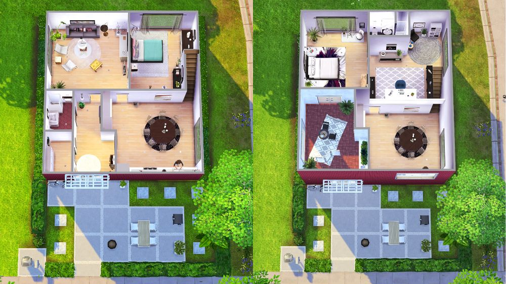 The Sims 4 House Plans Sims 4 House Plans Sims 4 Houses Sims 4 Houses Layout