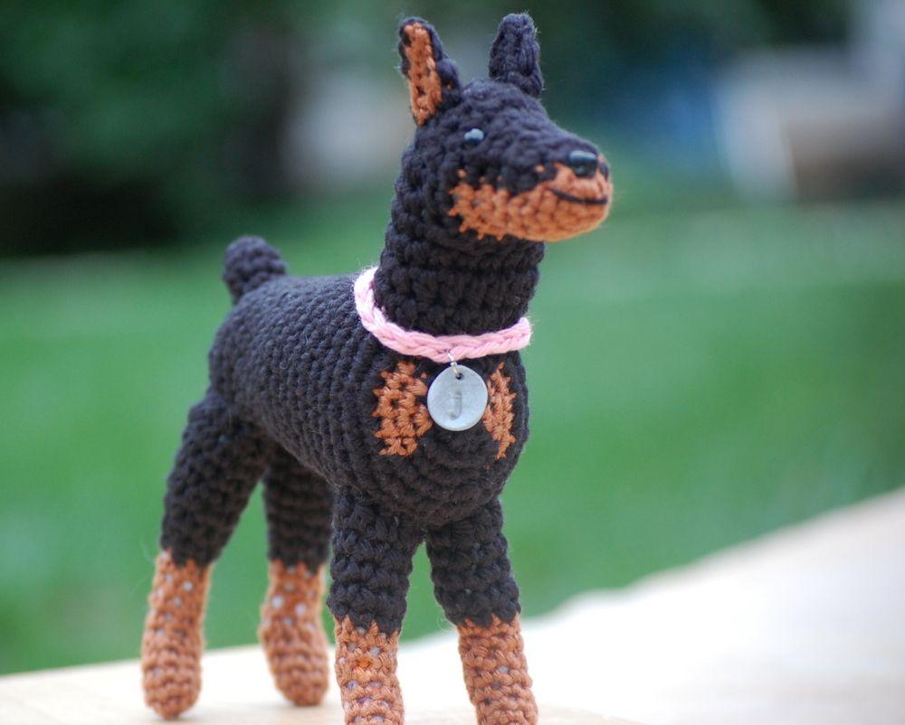 Amigurumi Lion Perritos : My mom has a german pinscher so i might make an amigurumi similar