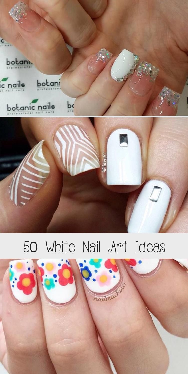 Photo of 50 White Nail Art Ideas – Nails & design