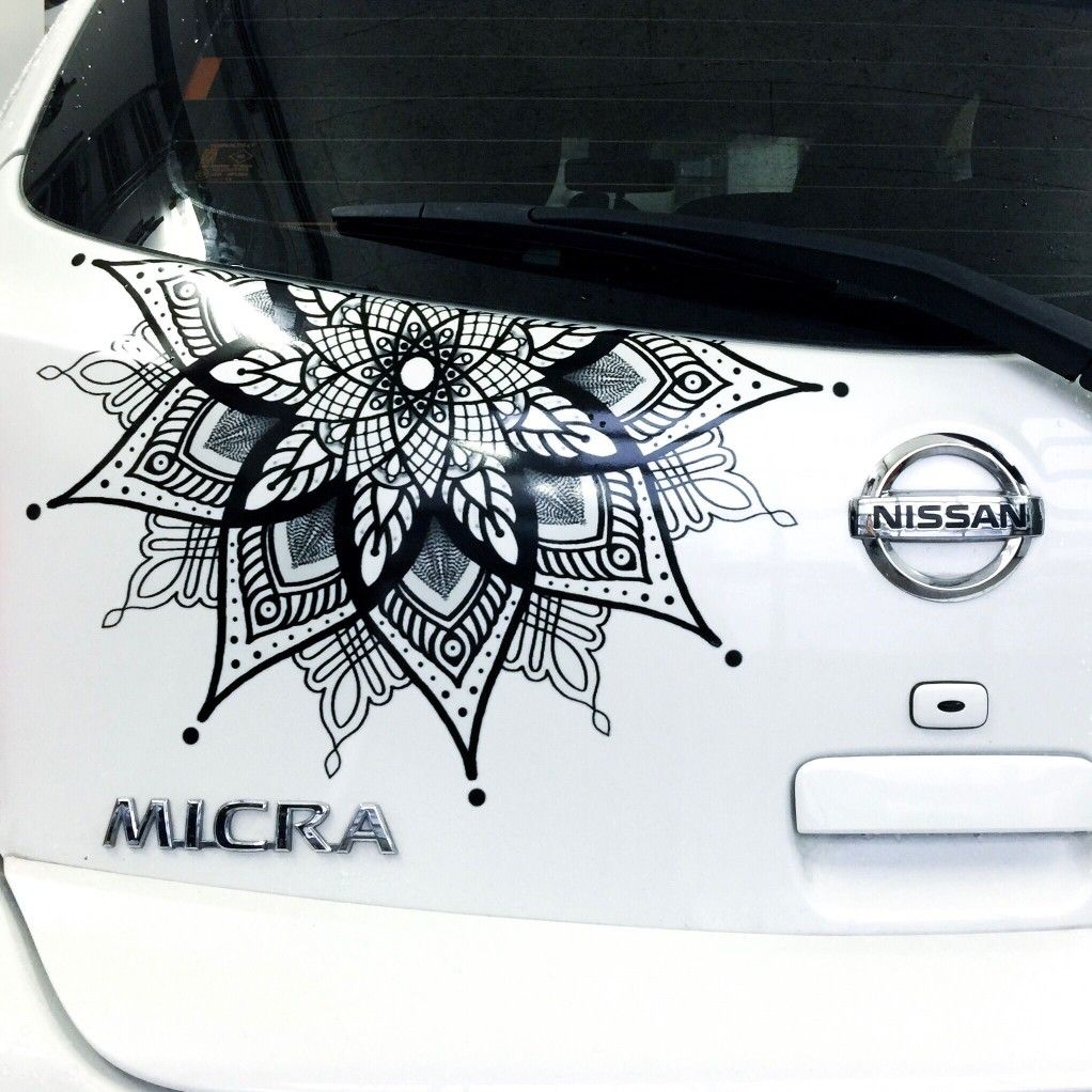Cute Hatchback Decal Decal March Micra Nissan K13