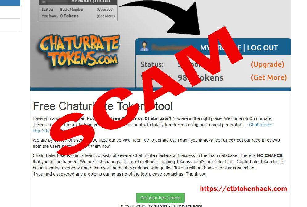 free chaturbate token no survey