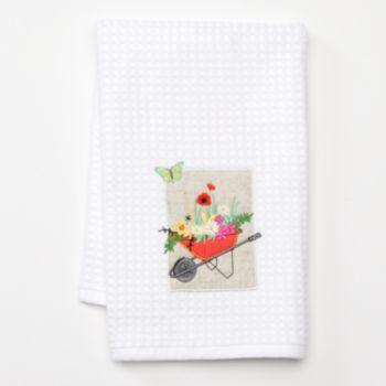 Sonoma Life Style Wheelbarrow Patch Kitchen Towel Kitchen