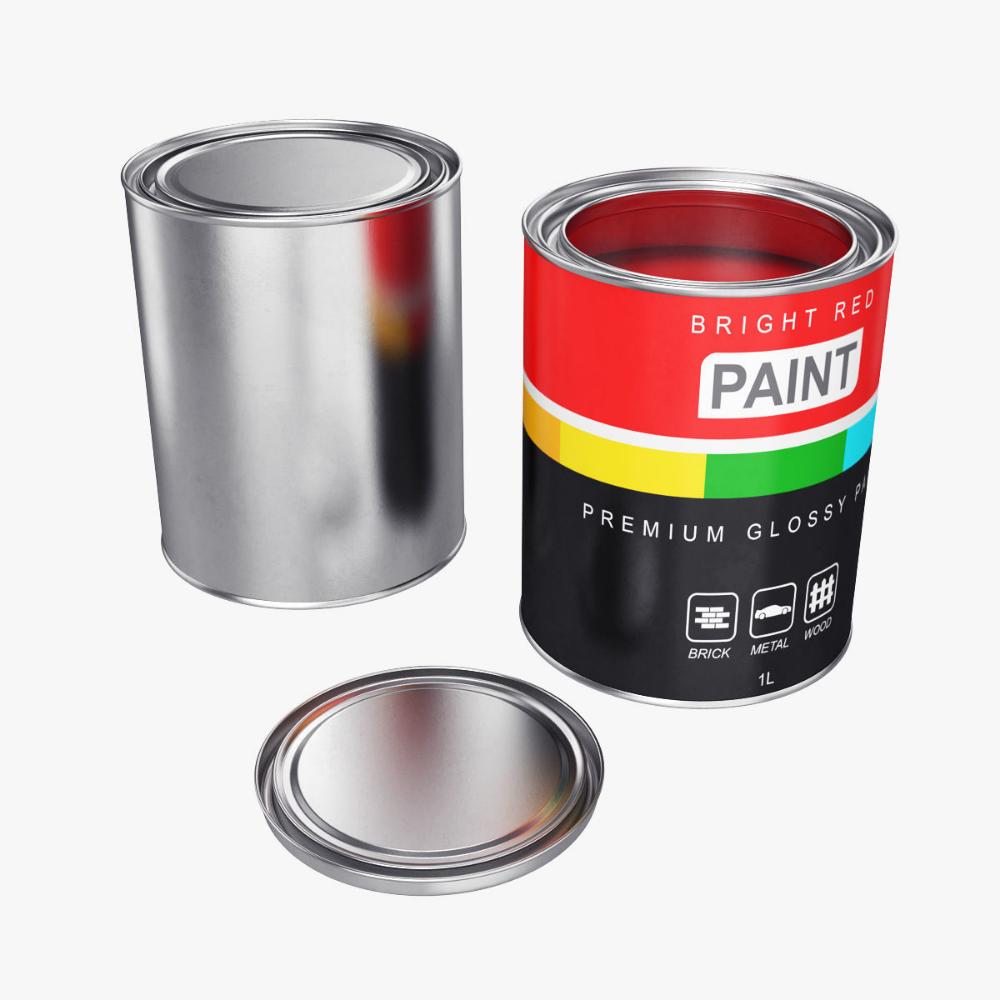 Paint Can 3d Model Paint Cans Model Paint 3d Model